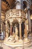 All'interno della cattedrale di Pisa Immagine Stock Libera da Diritti