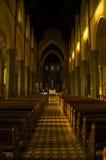 All'interno della cattedrale Melbourne della st il Patrick Fotografia Stock