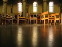 All'interno della chiesa Immagini Stock