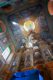 All'interno della chiesa fotografie stock libere da diritti