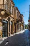 All'interno della città murata di Nicosia Cipro Fotografia Stock Libera da Diritti