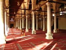 All'interno della moschea Immagini Stock