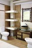 All'interno della stanza da bagno moderna III immagine stock libera da diritti