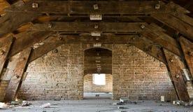All'interno di costruzione abbandonata Immagine Stock