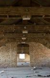 All'interno di costruzione abbandonata Fotografia Stock