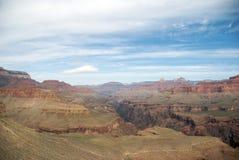 All'interno di grande canyon dalla MESA del ferro di cavallo fotografia stock libera da diritti