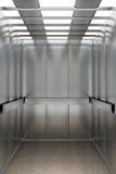 All'interno di un elevatore Immagini Stock Libere da Diritti
