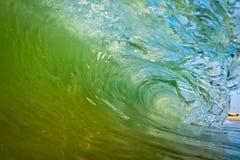 All'interno di un'onda Fotografie Stock