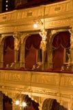 All'interno di vecchio teatro Fotografia Stock Libera da Diritti