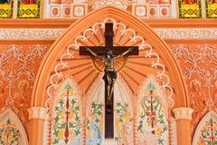 All'interno oltre di 100 anni della chiesa. Immagini Stock