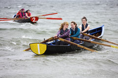All Ireland Currach Racing Royalty Free Stock Photos