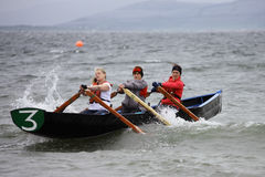 All Ireland Currach Racing Royalty Free Stock Images