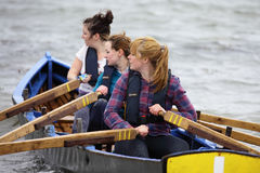 All Ireland Currach Racing Royalty Free Stock Photography