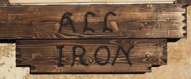 All iron Stock Photo