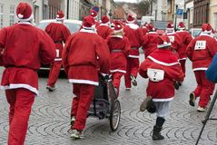 all julfader över Arkivbild