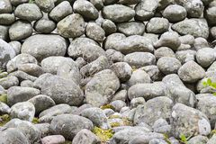 All kind of round stones as background Stock Photography