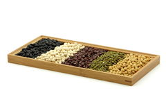 All kinds of beans Royalty Free Stock Image