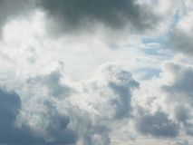 All kinds of clouds royalty free stock images