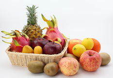All kinds of fruit Royalty Free Stock Image