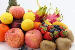 All kinds of fruit Stock Photography