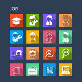All kinds of Job icon Stock Photos