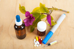 All kinds of medicines Royalty Free Stock Photo