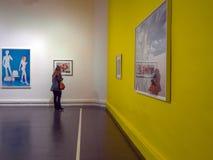 all konst filtrerade för fotobilder för gallerit bara den hela väggen Royaltyfri Bild