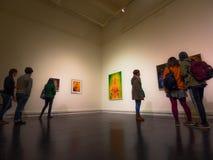 all konst filtrerade för fotobilder för gallerit bara den hela väggen Royaltyfri Foto