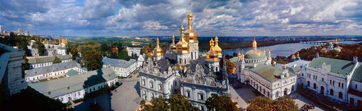 All Lavra in one photo Royalty Free Stock Image