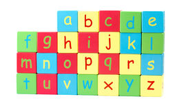 All the Letters of the Alphabet Royalty Free Stock Photo
