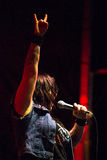 All-Mädchen AC/DC die Bell der Cover-Band-Hölle Stockfotos