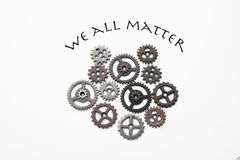 We all matter Stock Images