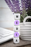 All is in media Royalty Free Stock Photo