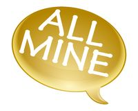 All mine bubble Royalty Free Stock Images