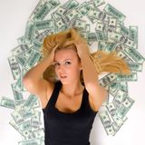 All the Money Stock Images