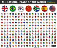 Free All National Flags Of The World . Circle Concave Button Design . Elements Vector Stock Photos - 130600703