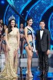 All Nations泰国2017年,最后的回合小姐 库存照片