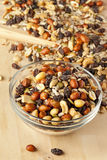 All Natural Homemade Trail Mix Royalty Free Stock Photography