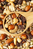 All Natural Homemade Trail Mix Stock Photography