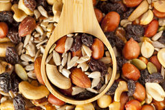 All Natural Homemade Trail Mix Royalty Free Stock Images