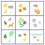 All nature poster Stock Photography