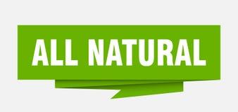 all naturligt royaltyfri illustrationer