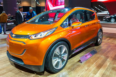 All new 2016 Chevrolet Bolt EV in the CIAS Royalty Free Stock Photography
