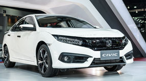 The All New CIVIC Stock Image