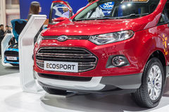 All New Ford EcoSport Stock Photos