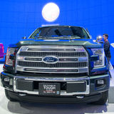 All New 2015 Ford F-150 Royalty Free Stock Photo