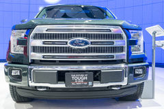 All New 2015 Ford F-150 Royalty Free Stock Images
