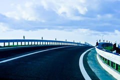 All new highway Royalty Free Stock Image