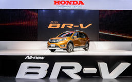 The ALL-New HONDA BR-V. Royalty Free Stock Images