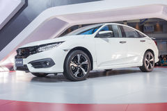 All New Honda Civic showed in Thailand Stock Images